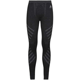 Odlo Suw Natural + Kinship Warm Leggings Heren, black melange